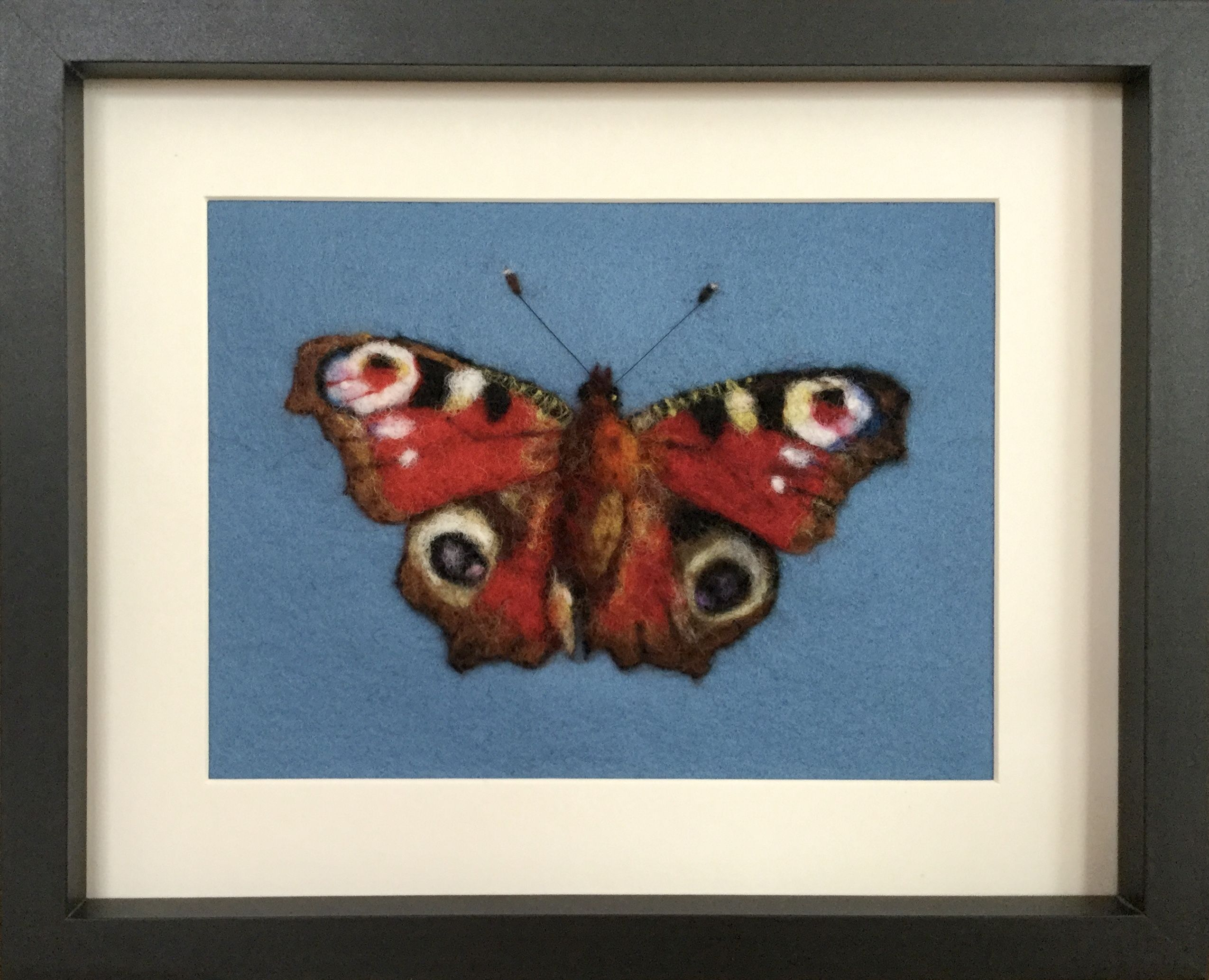 #butterfly #homedecor #woolart #needlefelting #fibreart
