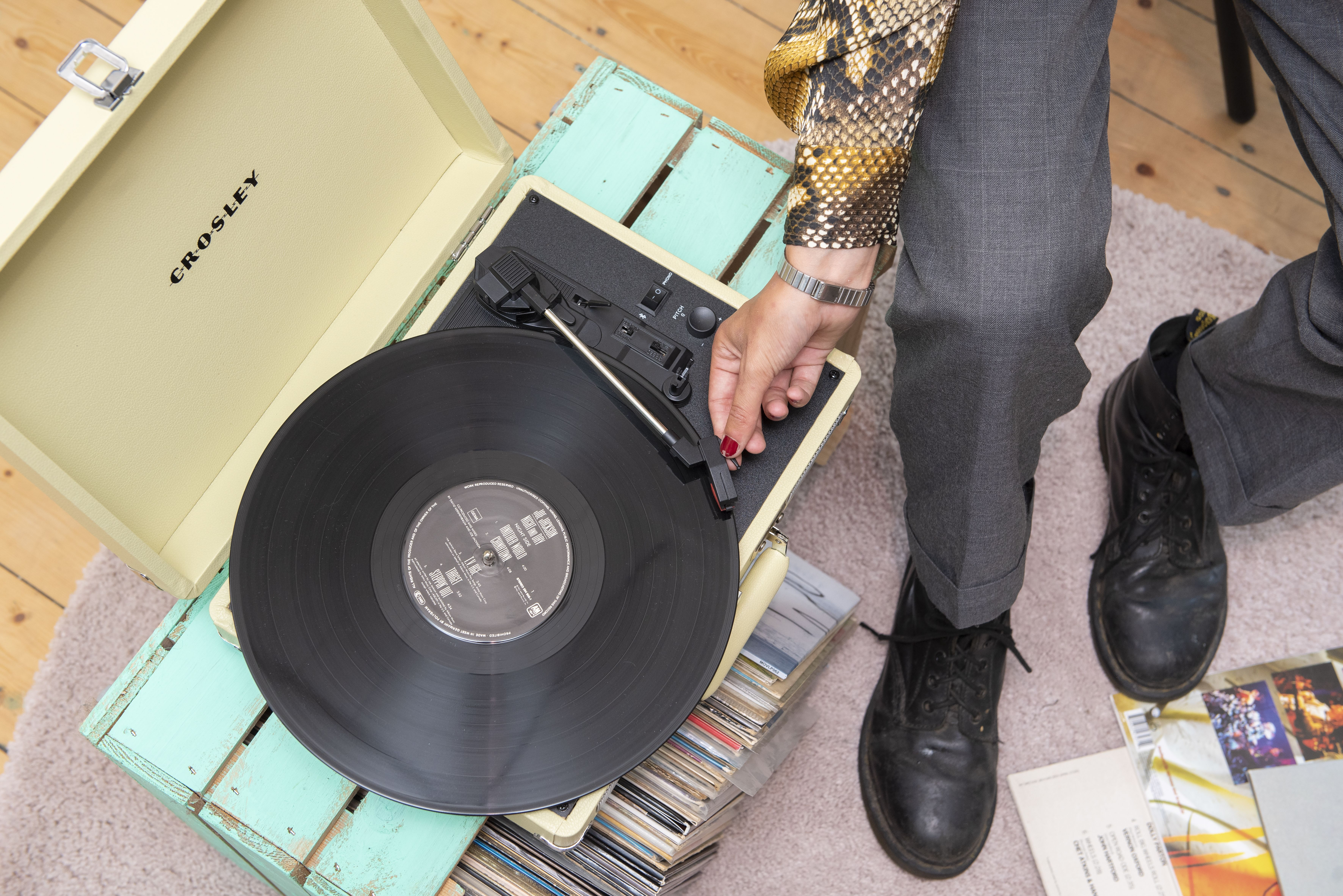 Cruiser Record Player Fawn Record Player Bluetooth Record Player Crosley Cruiser