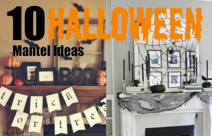 10 Unique Halloween Mantel Ideas Mantel ideas and Mantels