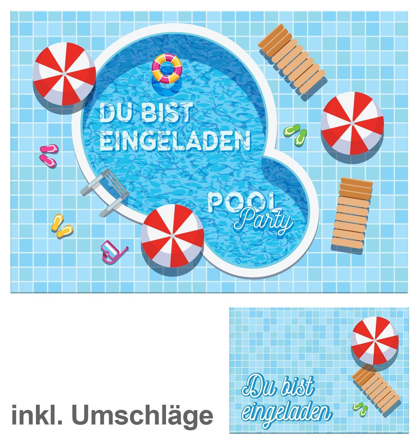 Fesselnd Einladung Kindergeburtstag Im Schwimmbad