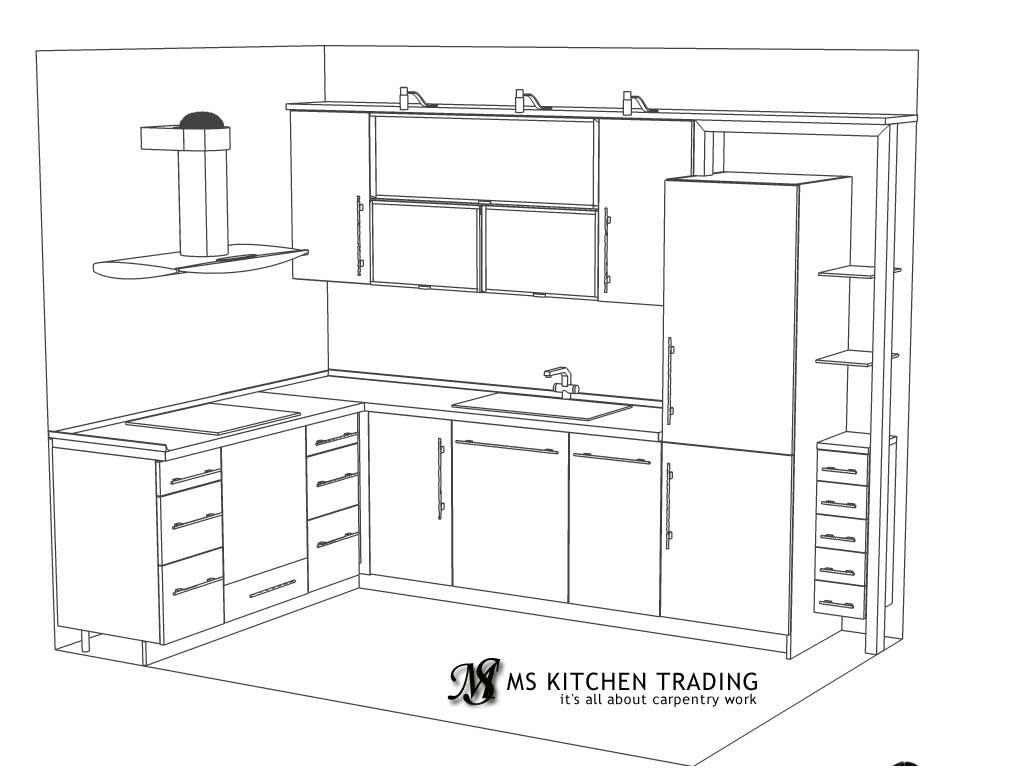 Küche Kabinett Design Küche Schränke Design Layout Kleine L ...