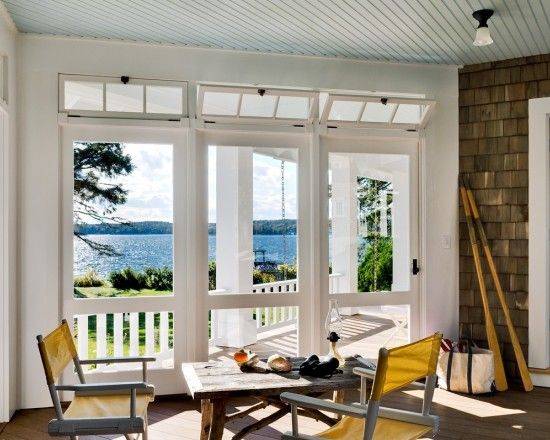 Operable Hopper Transom Windows Are Great For Creating Cross Ventilation
