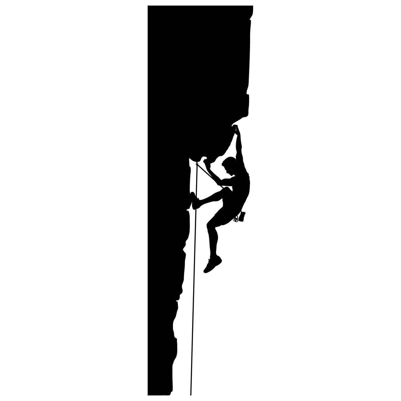 Rock climbing wall decal sticker 3 rock climbing climbers and our rock climbing climber wall decals are applied just like a sticker it comes amipublicfo Choice Image