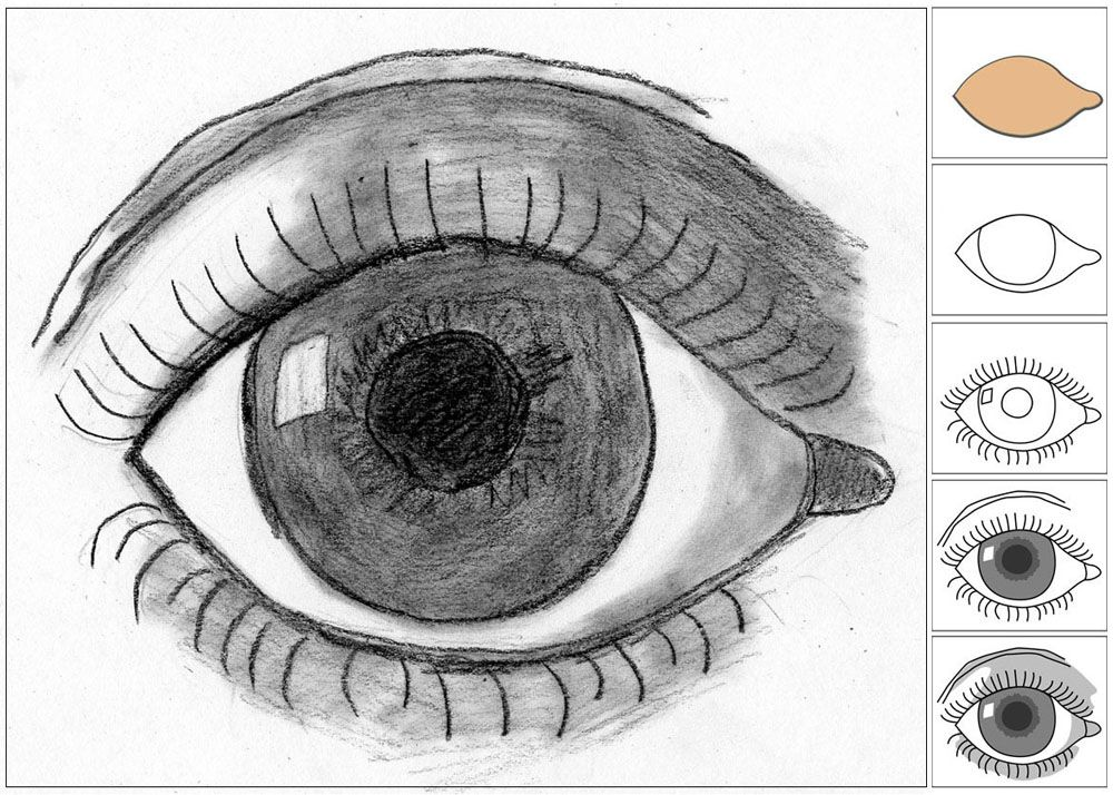 eye illusions to draw - 1000×714