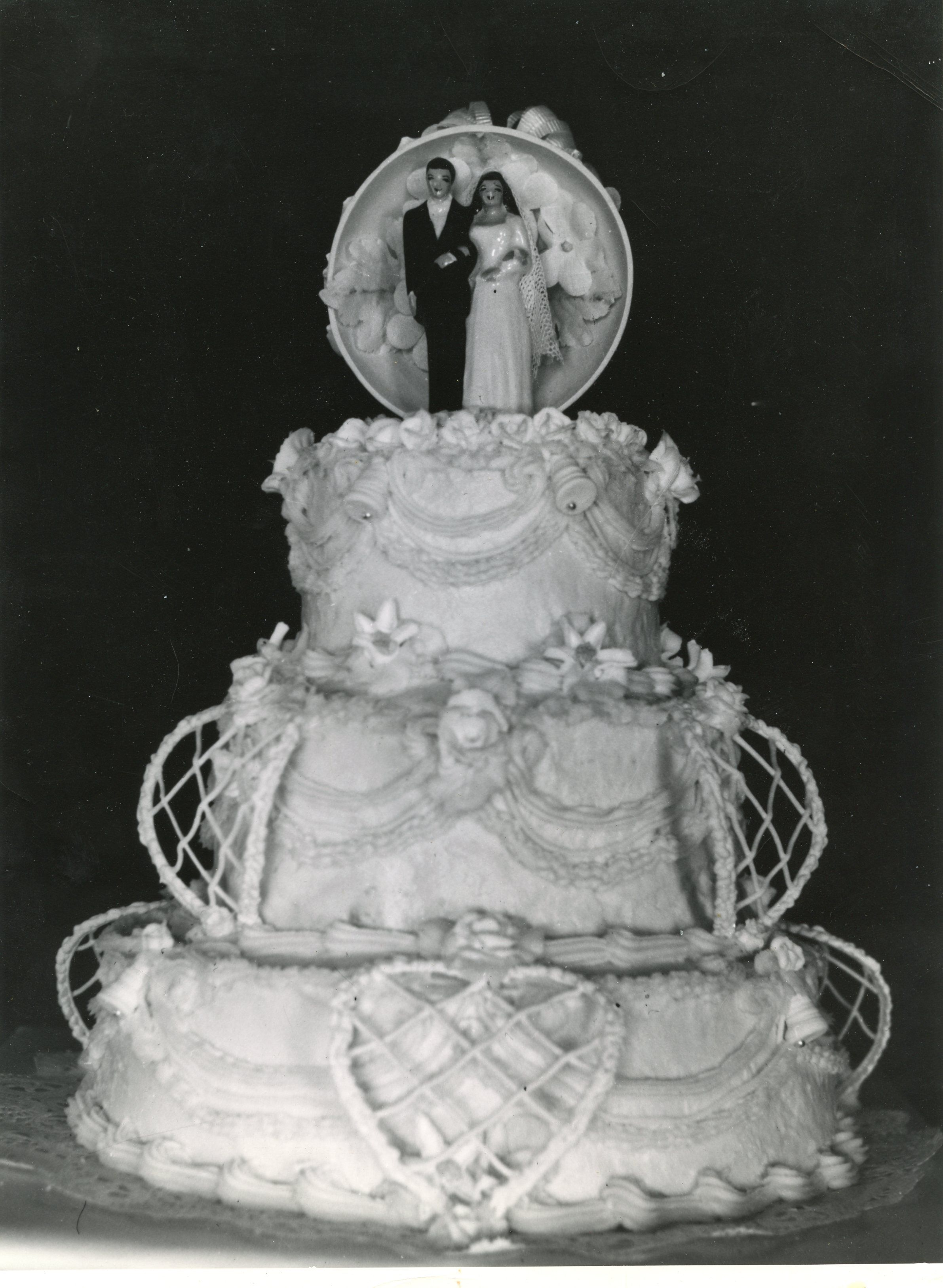 Picture of a us wedding cake vintage wedding pictures