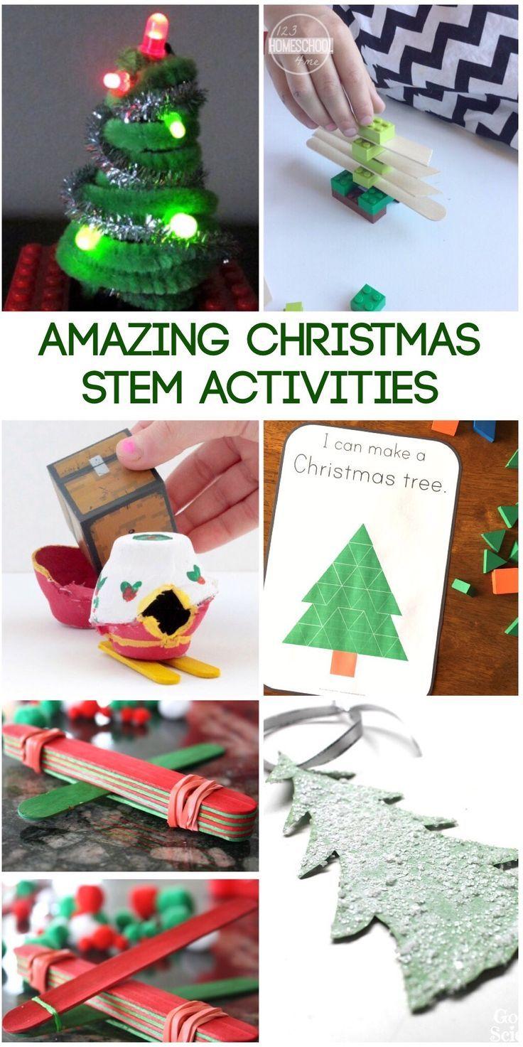 20 Amazing Christmas STEM Activities | Stem activities, Pre-school ...