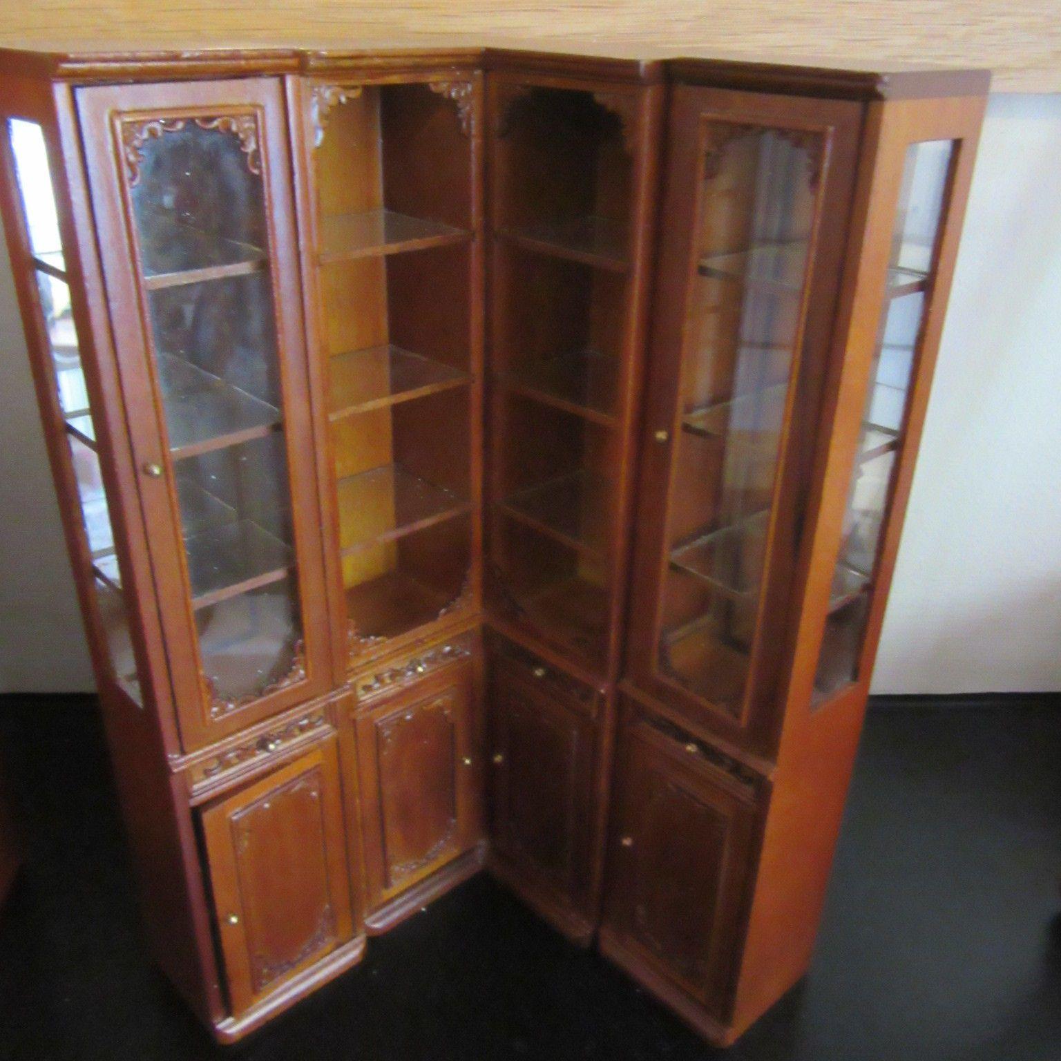 Captivating Dolls House Furniture Shop Units Or House Cabinet Set JiaYi