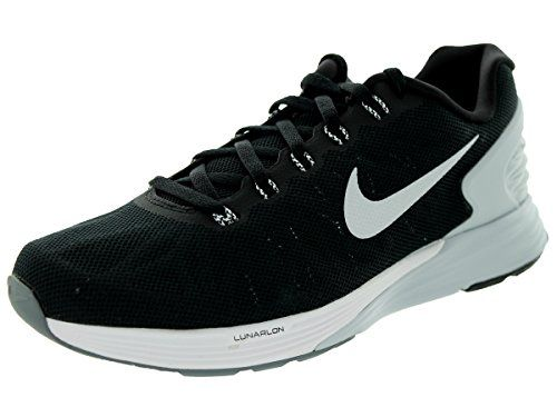 c1a9f10f8d13 awesome Nike Women s Lunarglide 6 Black White Pr Platinum Cl Gry Running  Shoe 7 Women US