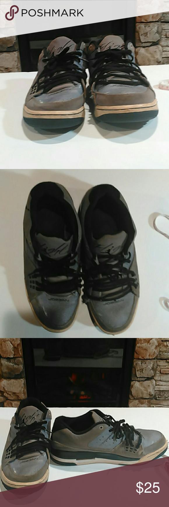 97cd2d3efdef27 Jordan sc-1 sneakers Jordan flight sc-1 low top gray charcoal grey in