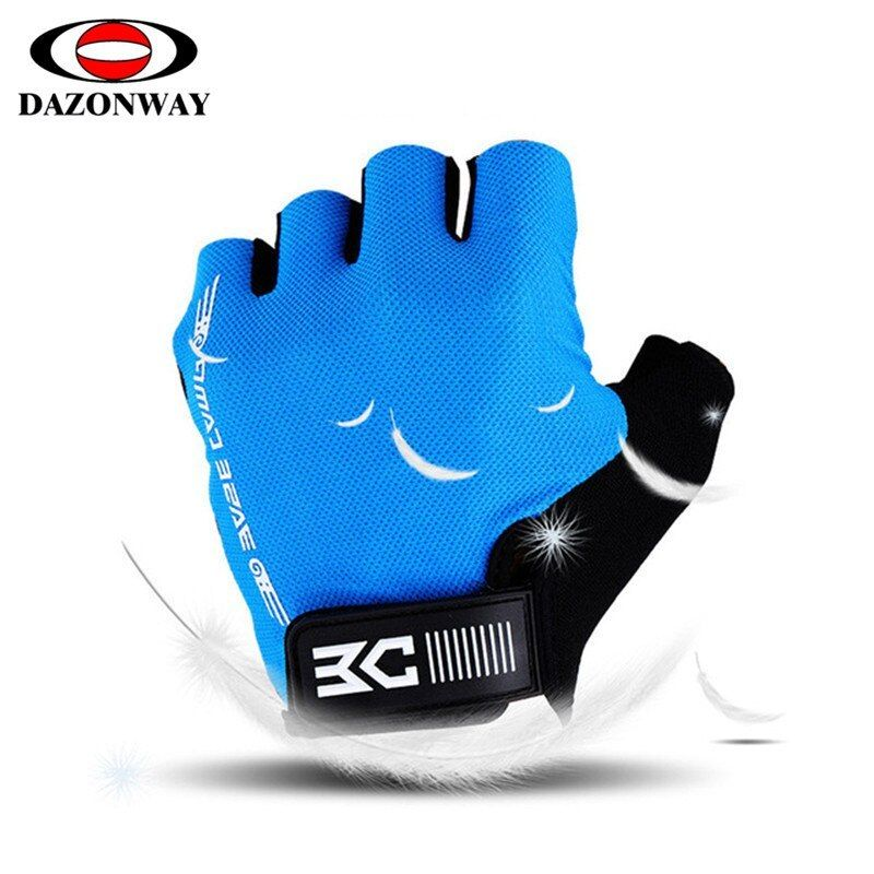 Breathable Cycling Gloves Half Finger Bike Bicycle Sports Gloves Anti Skid Glove