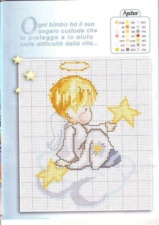 Pin by Chrysa Raftaki on αγγελακια | Pinterest | Cross Stitch ...