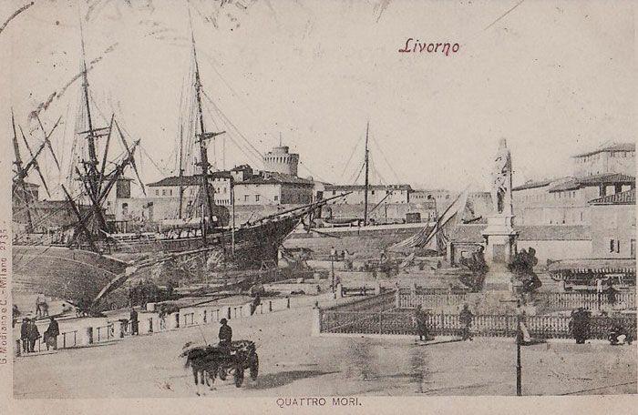 1900. Livorno