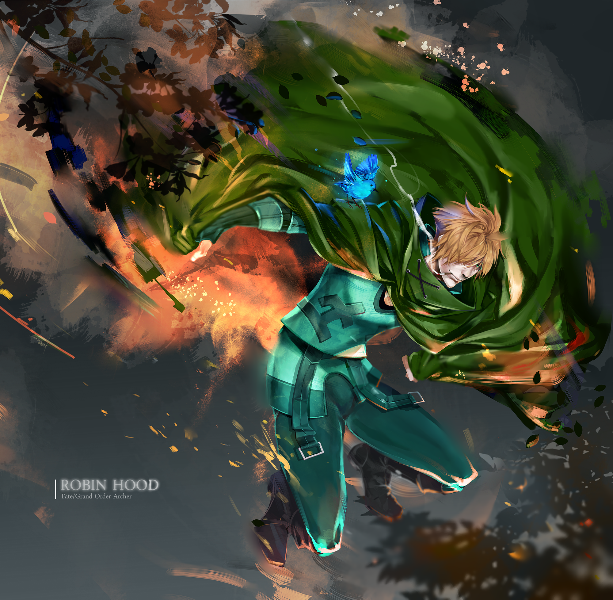 Robin Hood / Lost Robin Rondo【Fate/Grand Order】 Anime