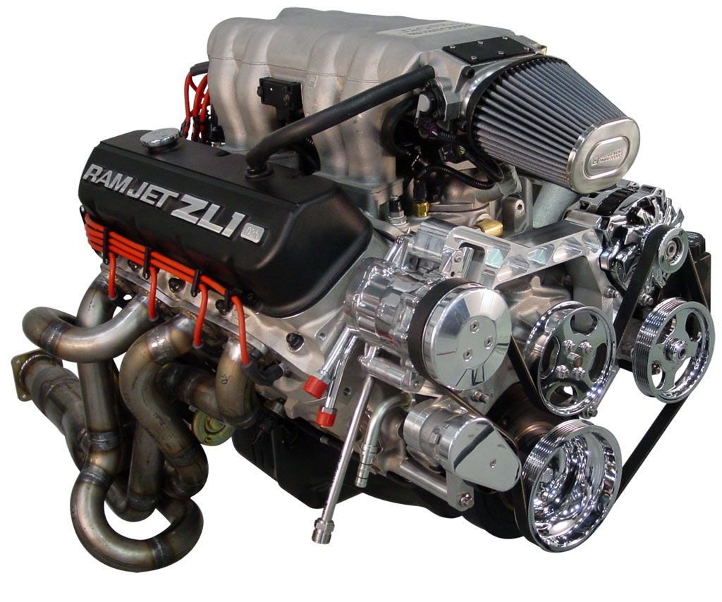 Big Block ZL1. Don't know what's sexier, the billet pulleys or the ...