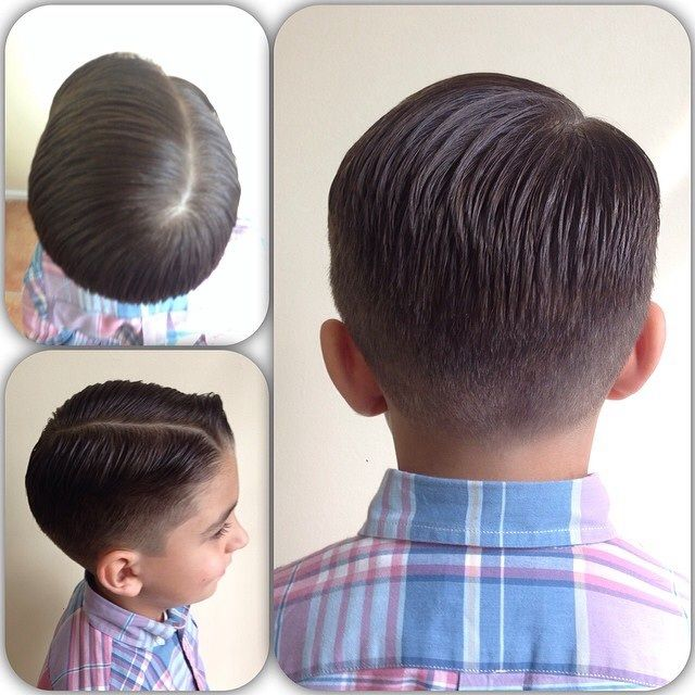 Remember, school is starting soon if it hasn`t already. Send your child off with the confidence to learn. www.pomade.com #pomade #dapper #cleancut #sidepart #fade #barber #educatioinisthekey