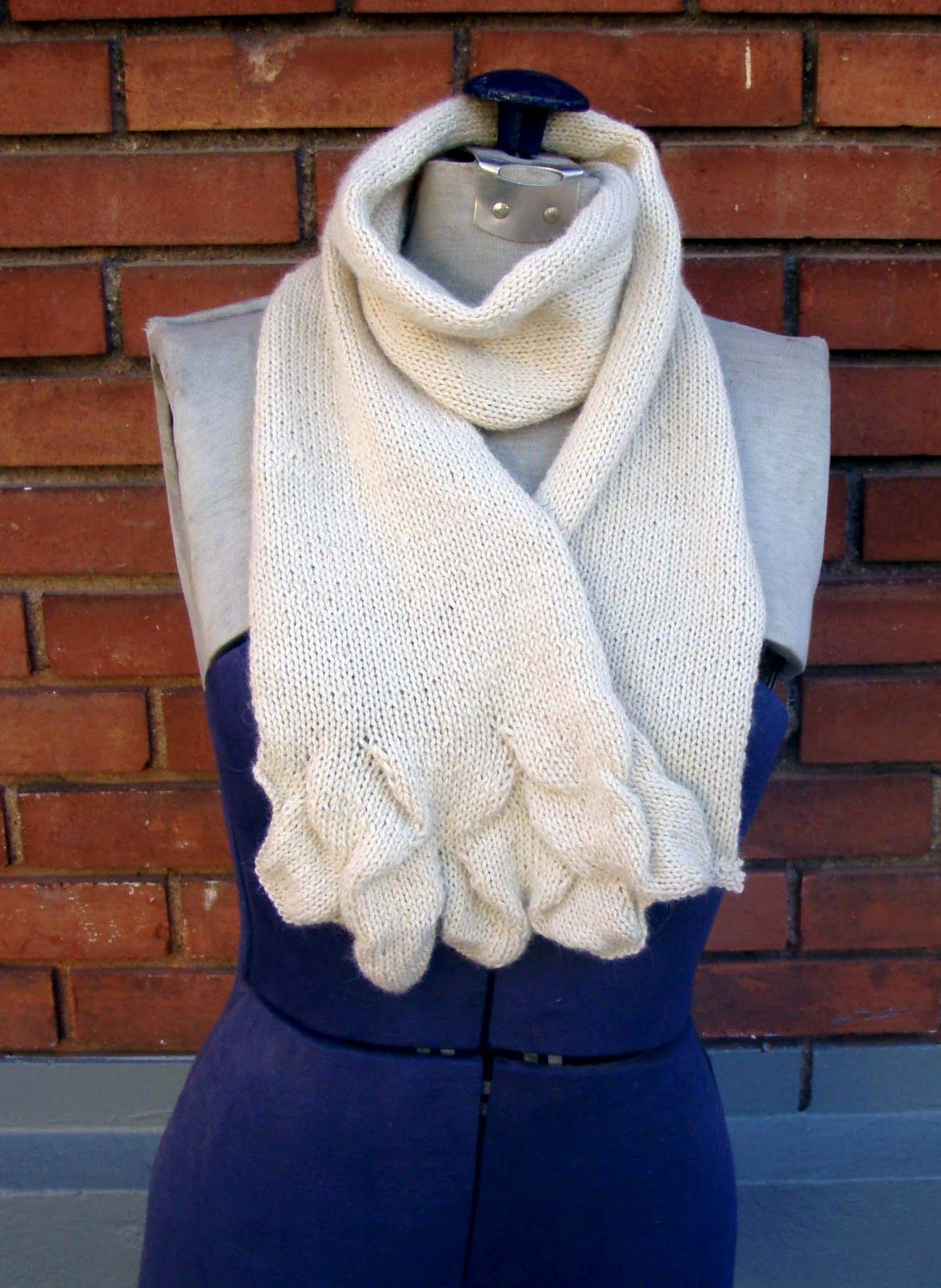 Free Knitting Pattern Scarves Salt Flats Scarf Knitting