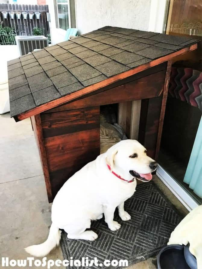15 Free Dog House Plans Your Dogs Will Love