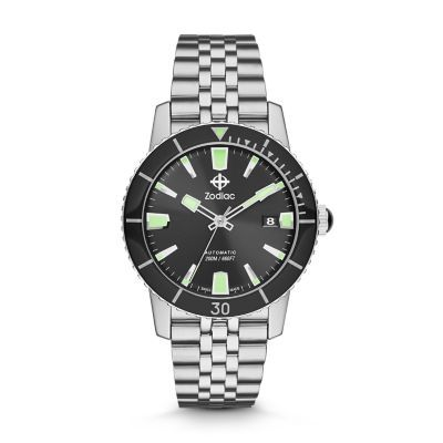Super sea wolf 53 compression | Zodiac watches, Watches for