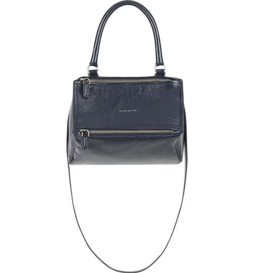 0765bd39e1 Givenchy Small Pandora Deerskin Deep Blue Leather Satchel. Save big on the  Givenchy Small Pandora