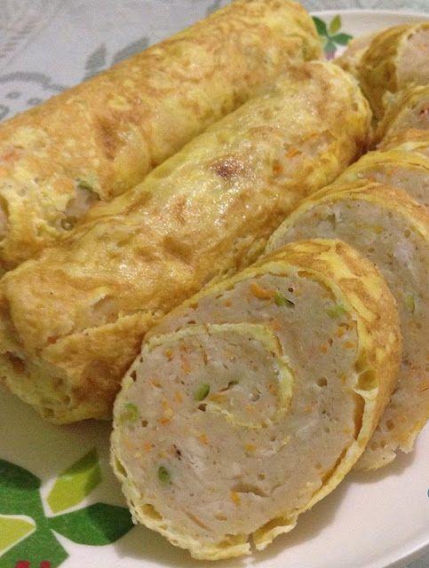 Resep Rolade Ayam Food Food Receipes Malaysian Food