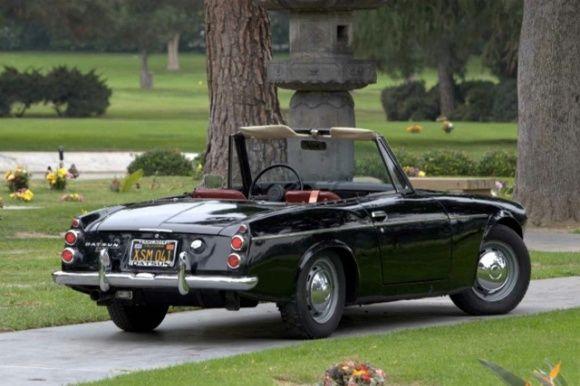 Resurrected Black-Plate 1968 Datsun Roadster | Bring A