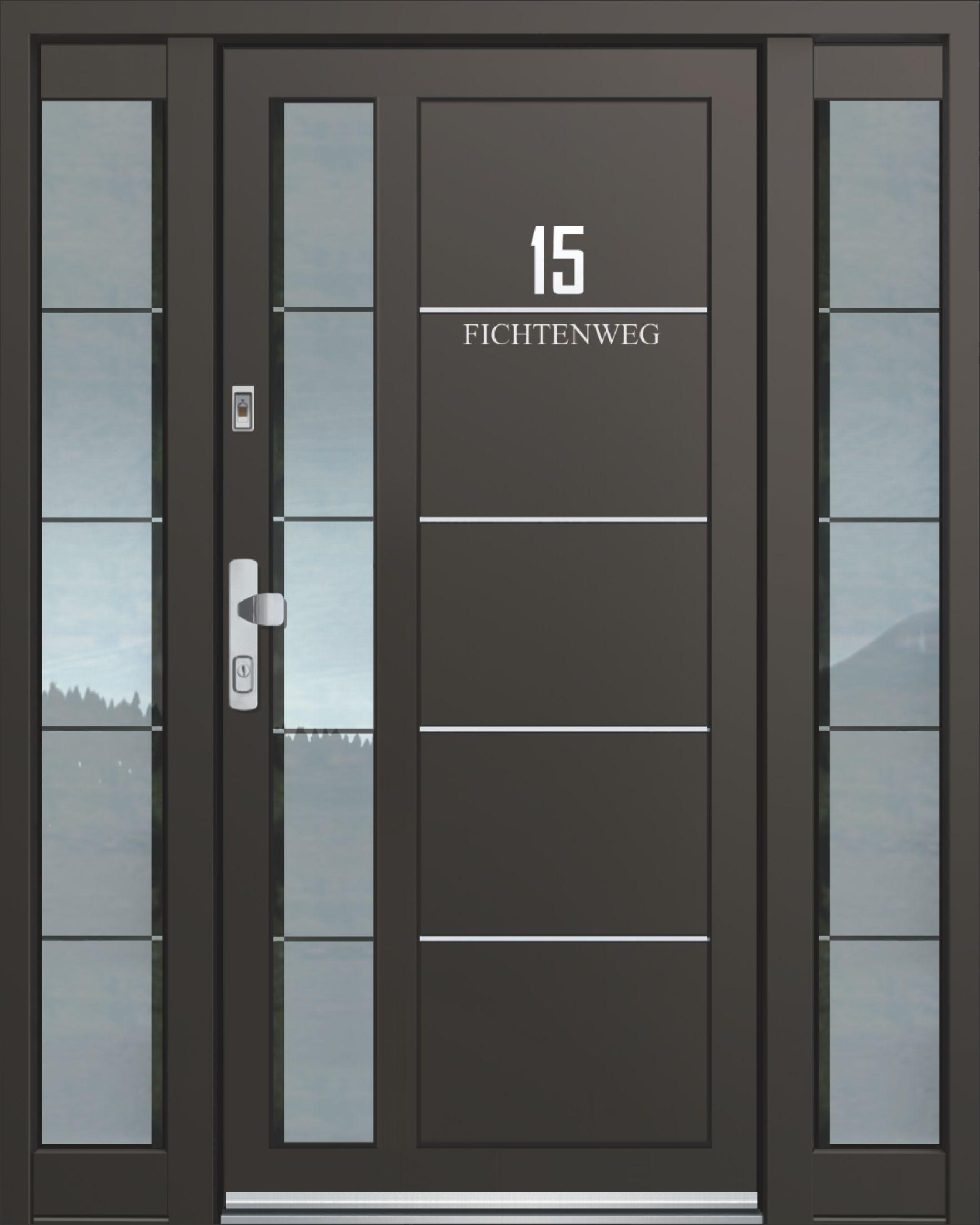Elegant Inotherm Haustür Modell ASS 1795 Tür Mit Viel Glas Preis Auf Anfrage Bei  Www.1001