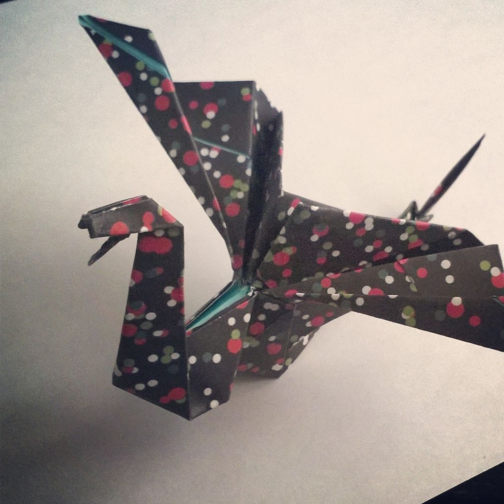 Lohikrme Tll Ohjeella Http Origami Instructionscom Dragon Diagram Instructions
