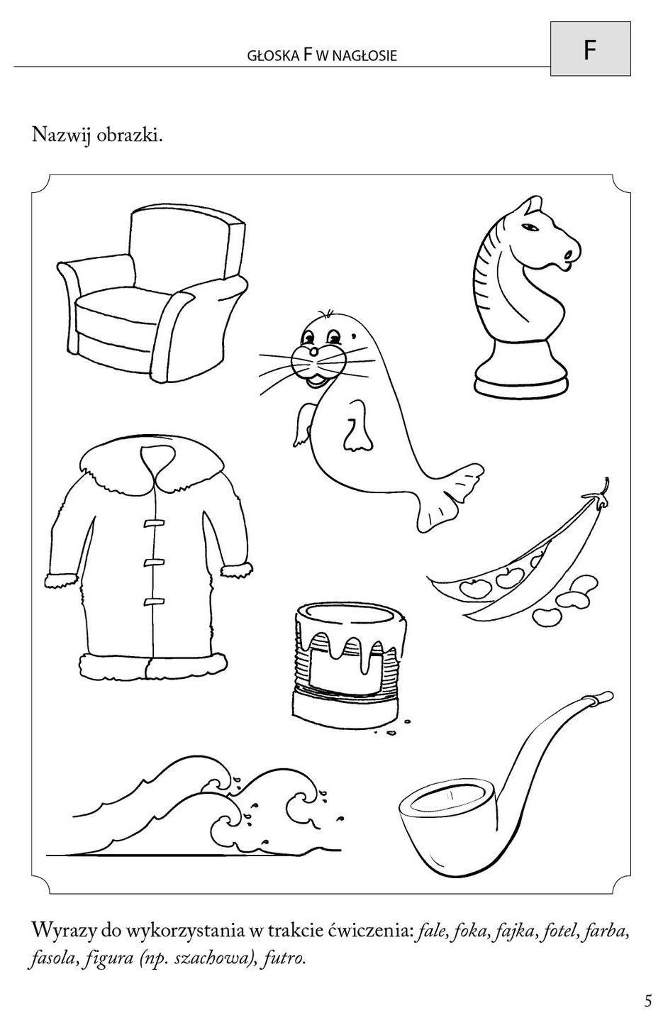 Obrazkowe Cwiczenia Logopedyczne Dla Przedszkolakow Education Sketchnotes Lettering