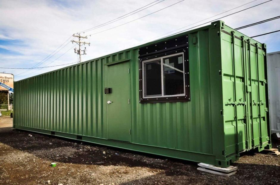 Mobile Home / Office   Container house, Shipping container ...