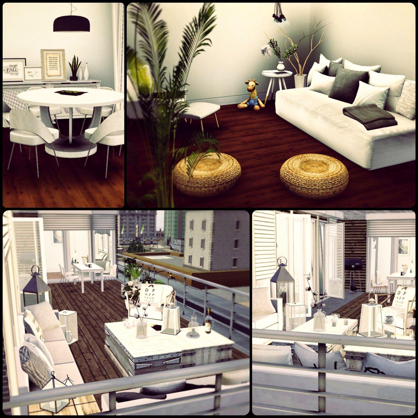Good Simberry Apartment 4D / Sims 3 / Download
