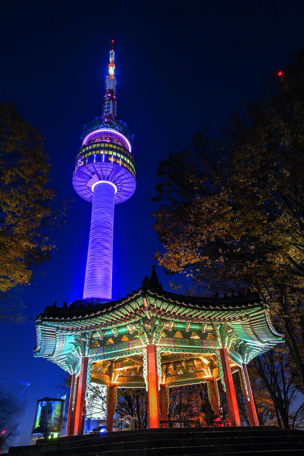 Corea Del Sur Torre N Corea Del Sur Korea Del Sur Corea
