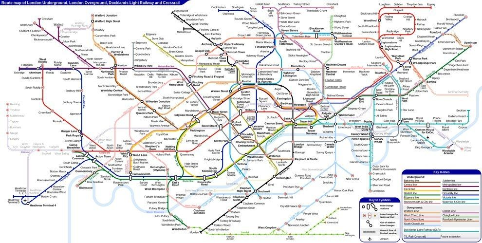 15 london underground maps that will change how you see the tube