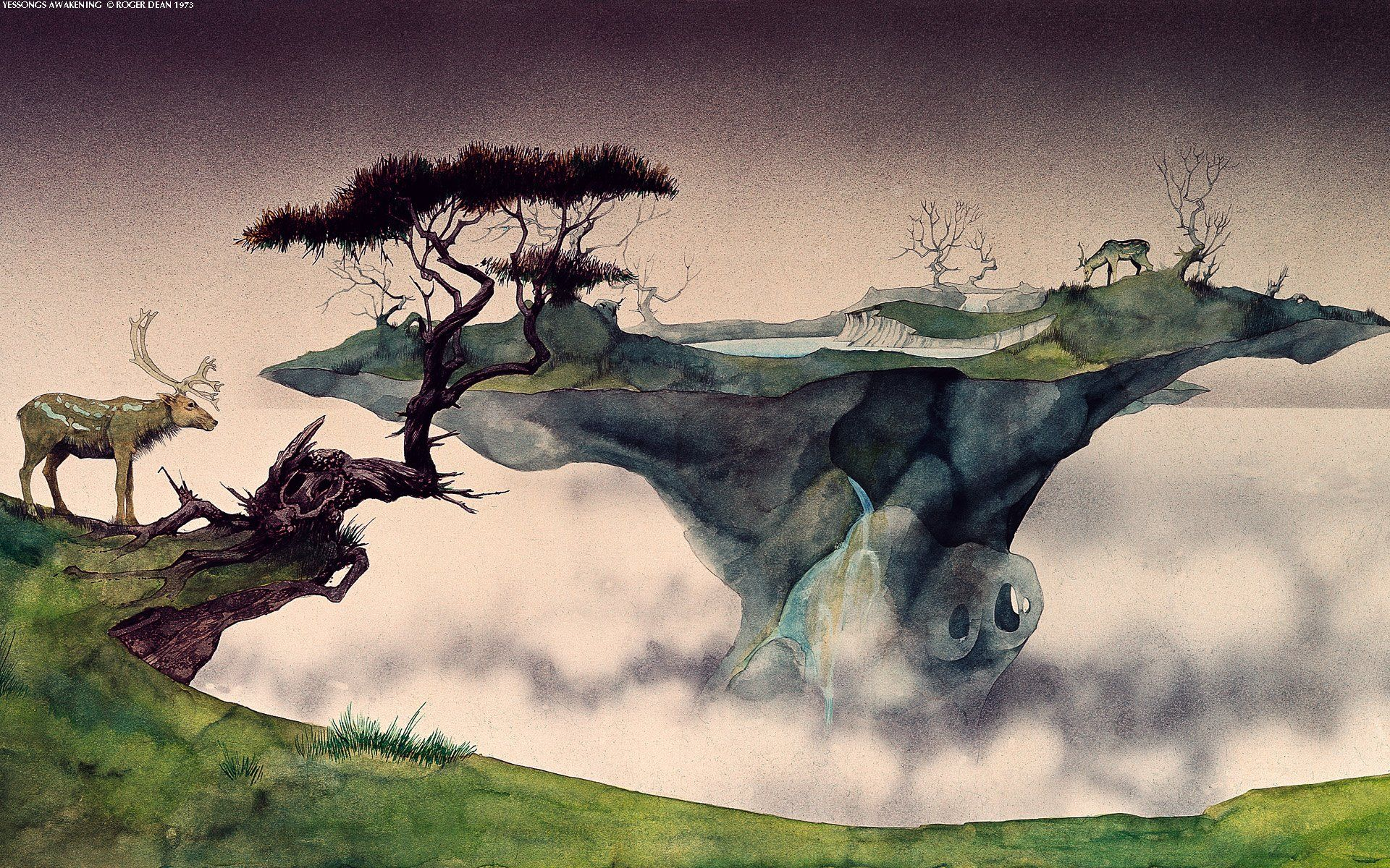 A Pack Of Amazing Surreal Wallpapers Roger Dean Dean Album Art