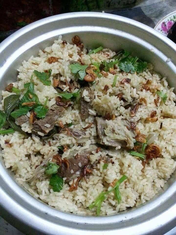 Nasi Daging Utara Dan Air Asam Kerisek Simple Malaysian Food Rice Dishes Rice Cooker Recipes