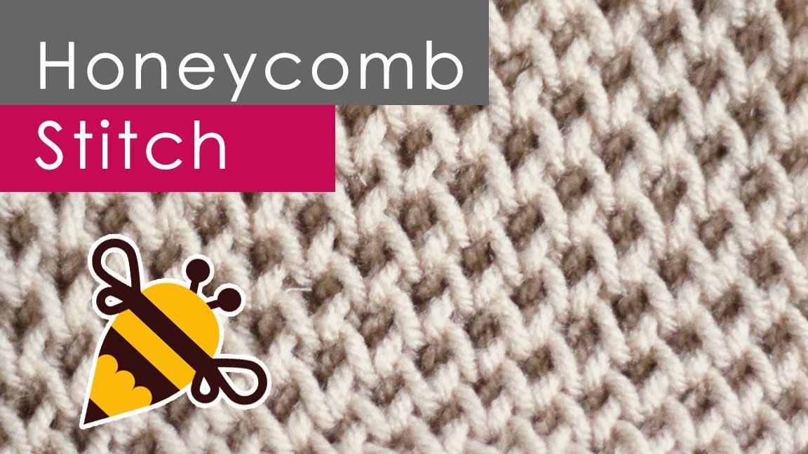 How to Knit the HONEYCOMB Brioche Stitch Pattern   Tejido ...