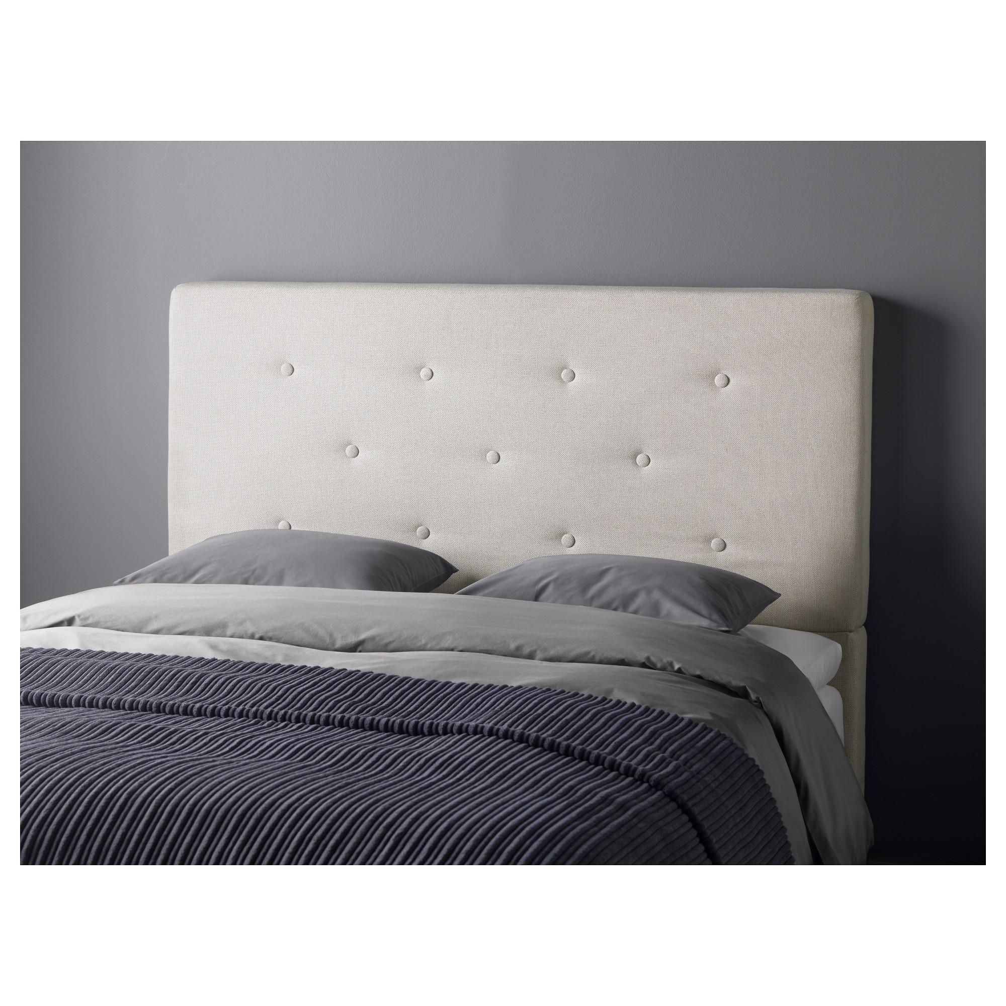 Bekkestua Headboard Natural Colour Standard Double ~ Cabeceros De Cama Tapizados Ikea