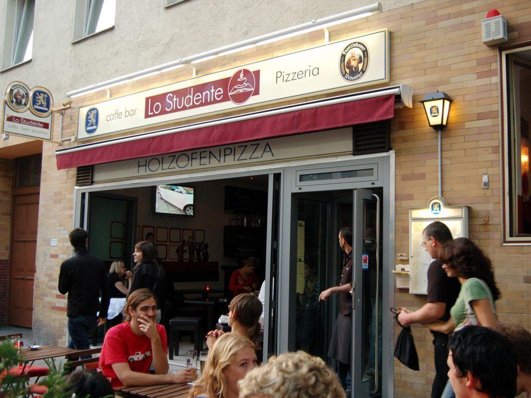 Pizzeria Lo Studente, Schellingstr. 30, 80799 München - BEST PIZZA IN TOWN!