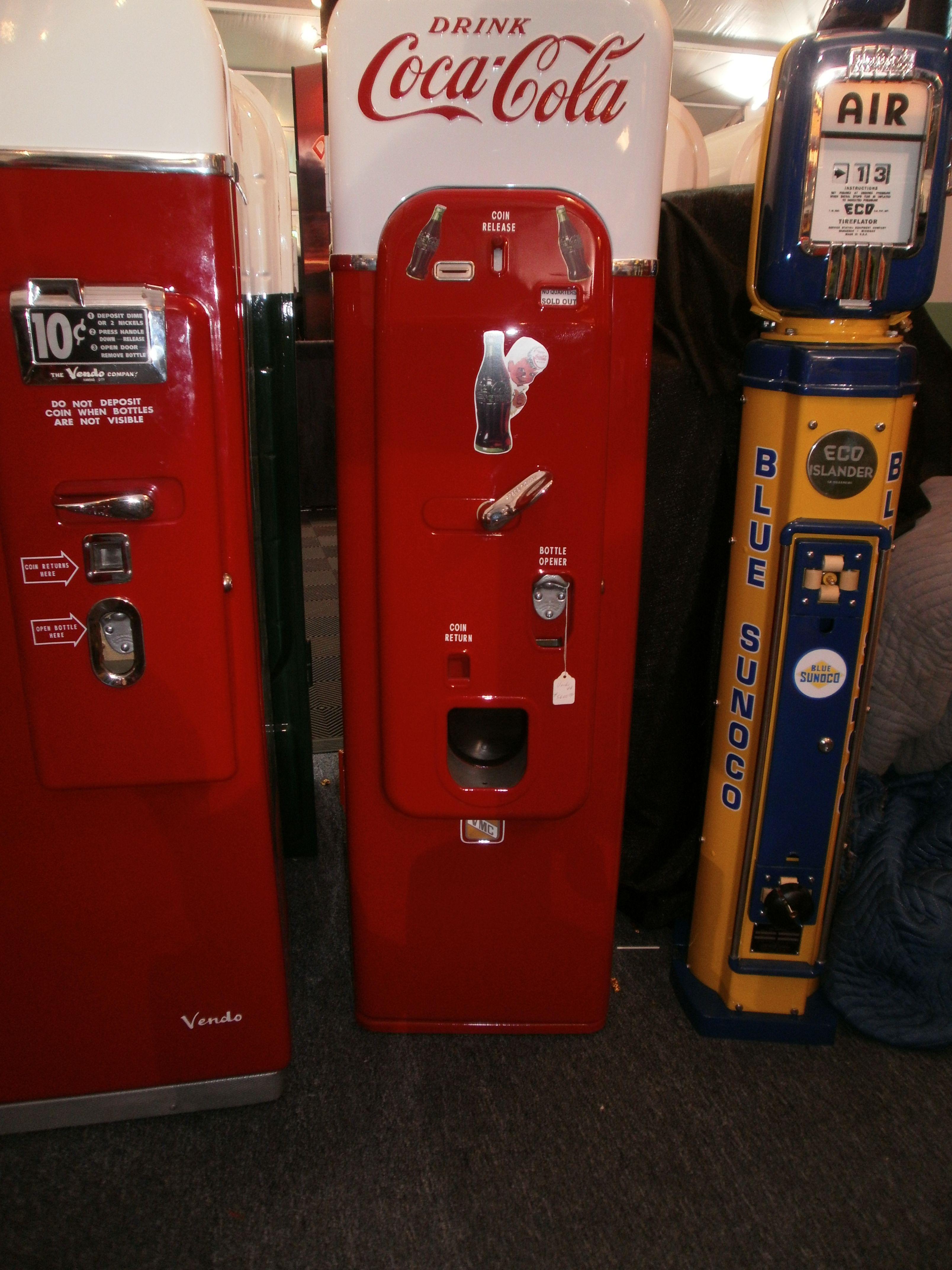 Gas Station, Gas Pumps, Soda, Dream Garage, Coca Cola, Air,