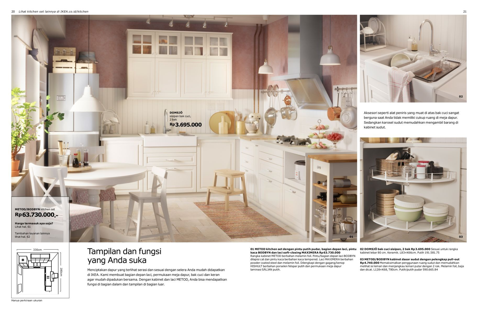 Brosur Dapur Metod 2017 | my idea for kitchen set | Pinterest ...