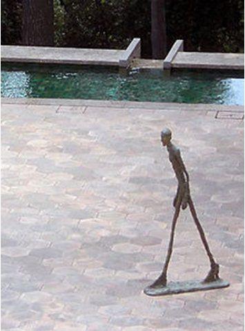 Giacometti à la Fondation Maeght de Saint Paul de Vence