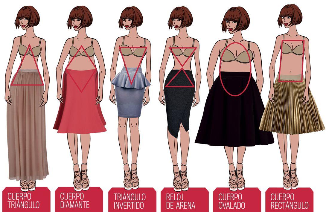 Una Falda Para Cada Tipo De Cuerpo