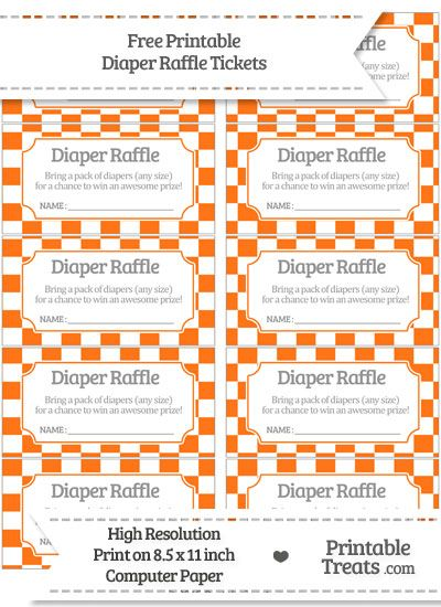 It is a photo of Remarkable Diaper Raffle Tickets Free Printable