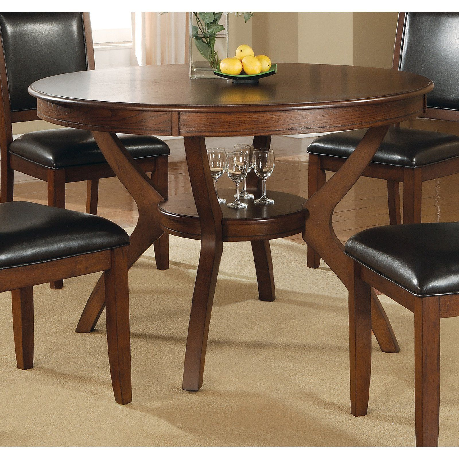 Coaster Furniture Neims Dining Table Dining Table In Kitchen
