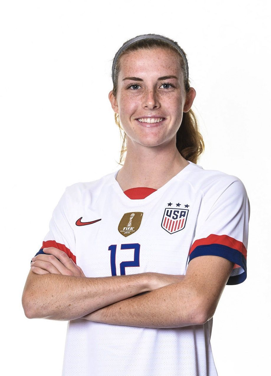 Tierna Davidson 12 Uswnt Official Fifa Women S World Cup 2019 Portrait Uswnt Uswnt Soccer Usa Soccer Team