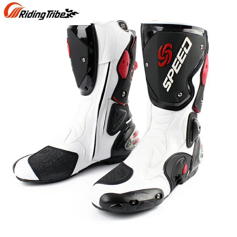 Riding s Motorcycle long boot SPEED Racing shoes bota off road dirt bike riding Motocross boots Men Tribe  1 Riding Men Tribes Motorcycle long boot SPEED Racing shoes bot...