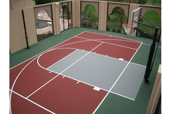 Basketball Courts Gallery Sport Court Of Austin Basketball Court Backyard Backyard Basketball Outdoor Basketball Court