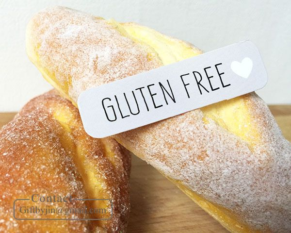 GLUTEN FREE label Seal Stickers_Homemade handmade bakery cookies label stickers #GiftFrom