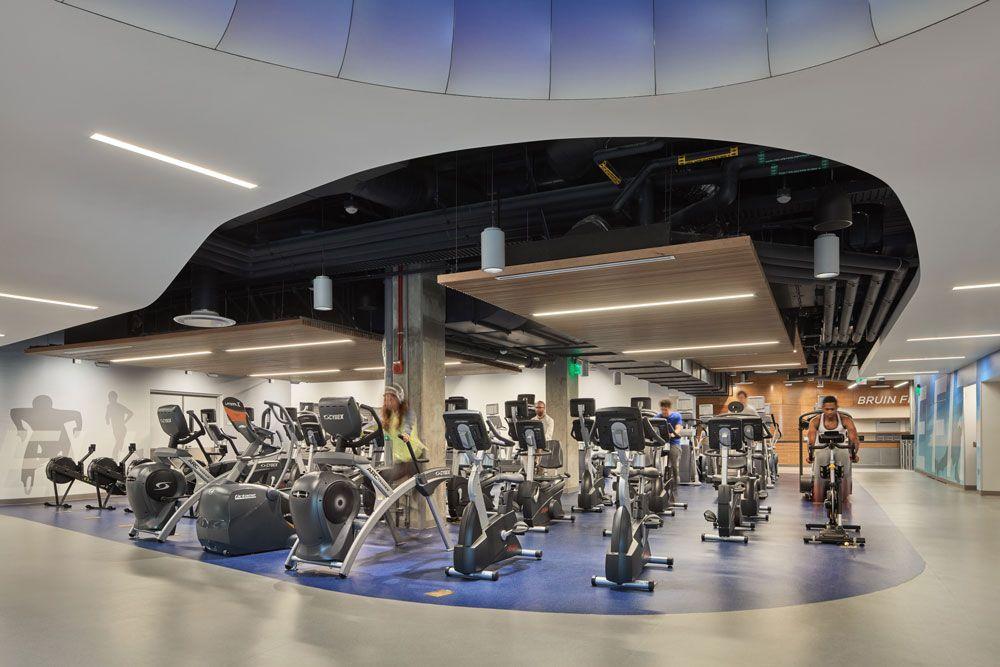 Gym design gym interior ucla
