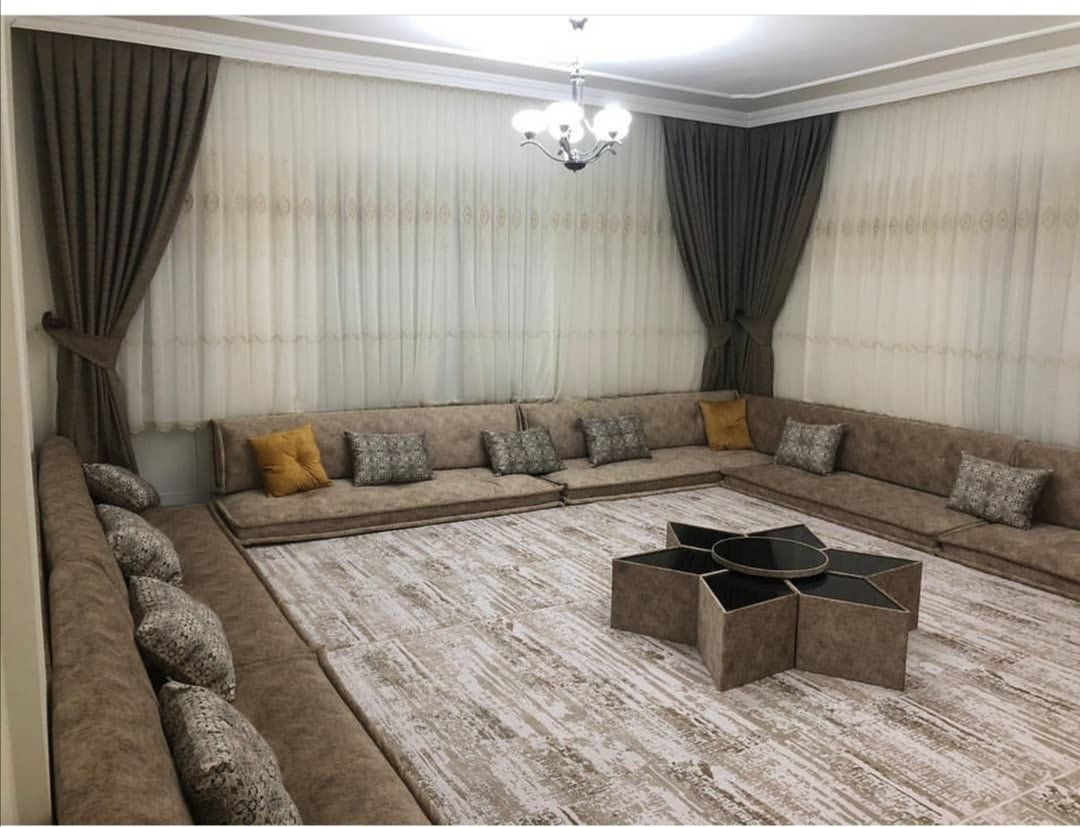 Gray Oriental Arabian Seating Set Etsy Luxury Room Design Living Room Design Decor Floor Seating Living Room