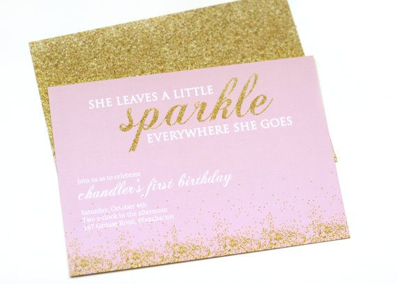 glitter invitations gold glitter and invitations on pinterest